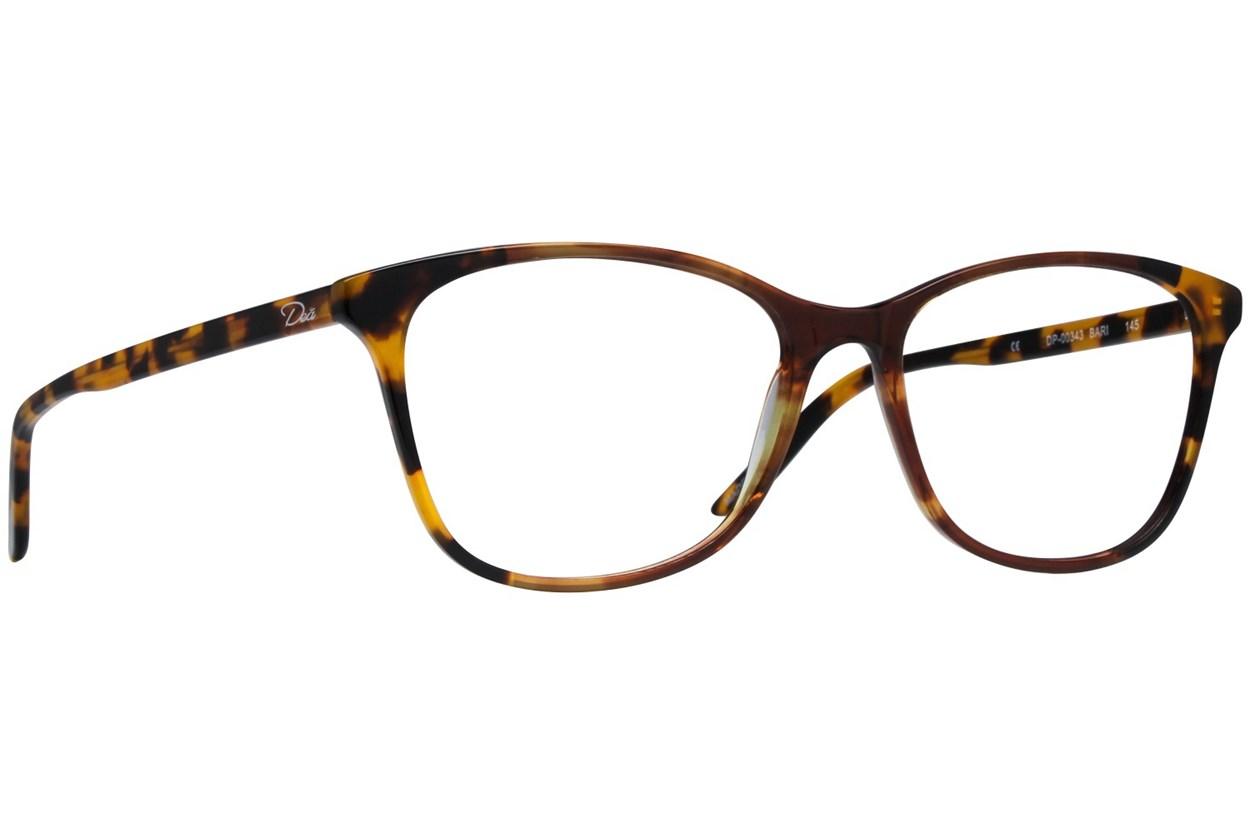 Dea Extended Size Bari Brown Eyeglasses