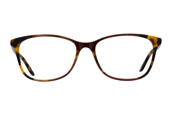 Dea Extended Size Bari Eyeglasses - Brown