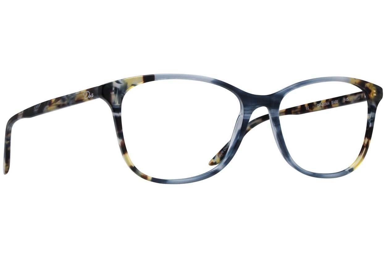 Dea Extended Size Bari Blue Eyeglasses