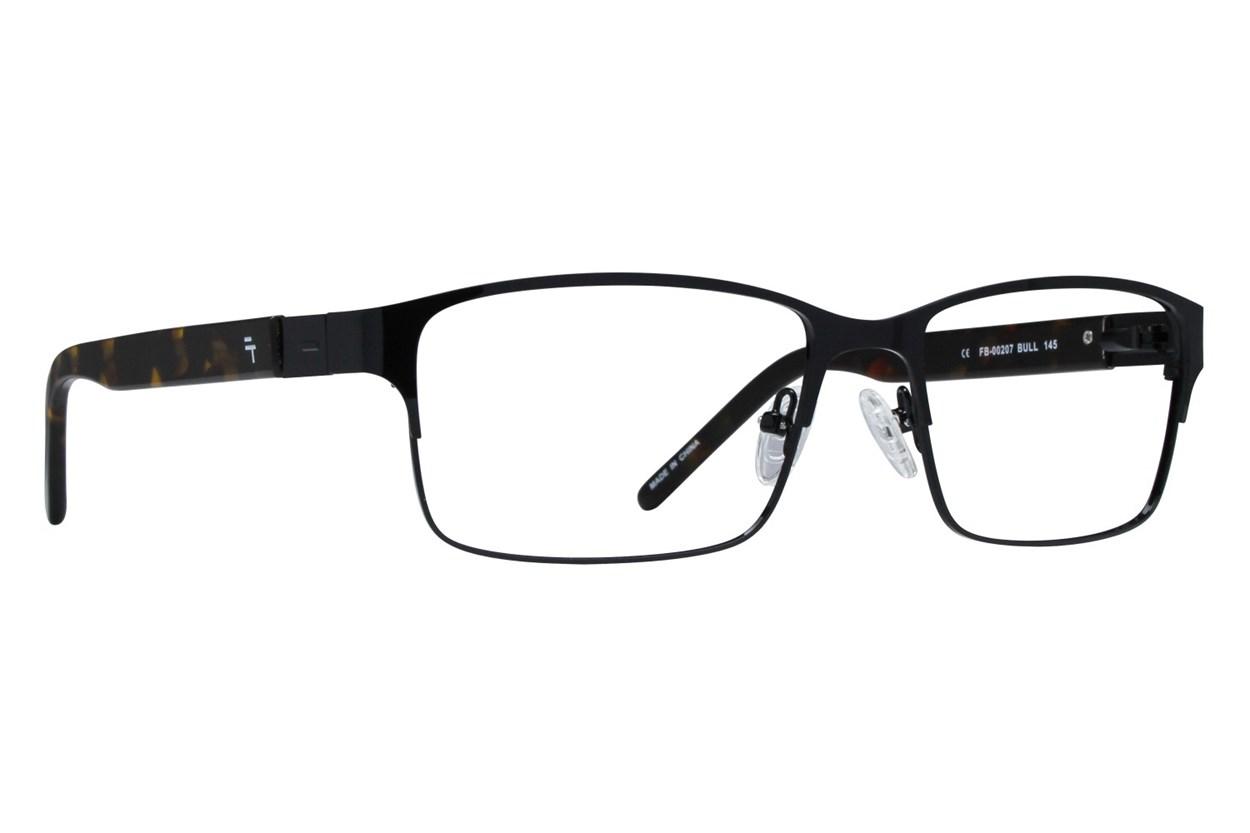 Fatheadz Bull Black Eyeglasses