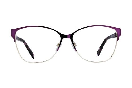 Dea Extended Size Chieti Purple Eyeglasses