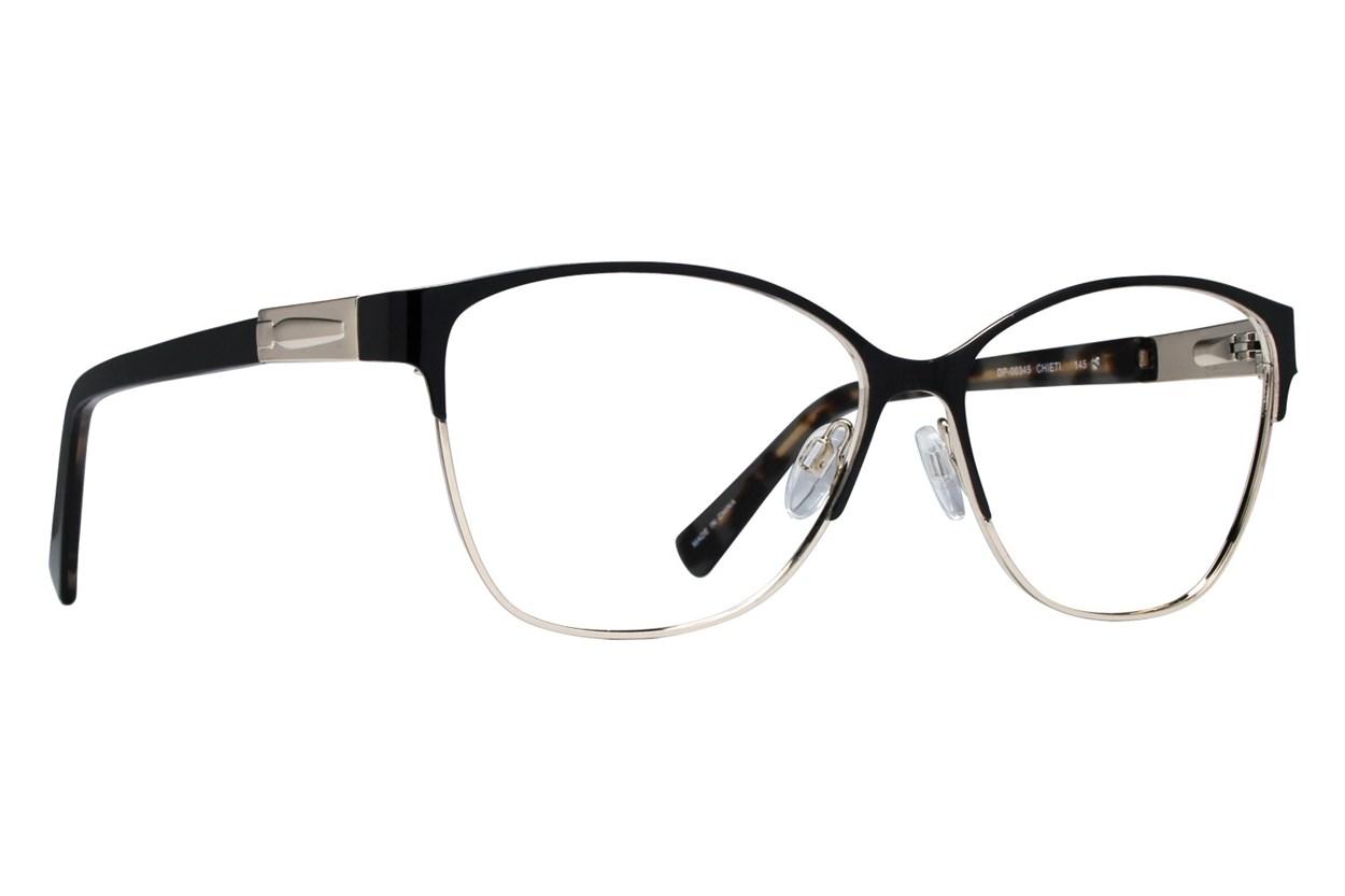 Dea Extended Size Chieti Black Eyeglasses