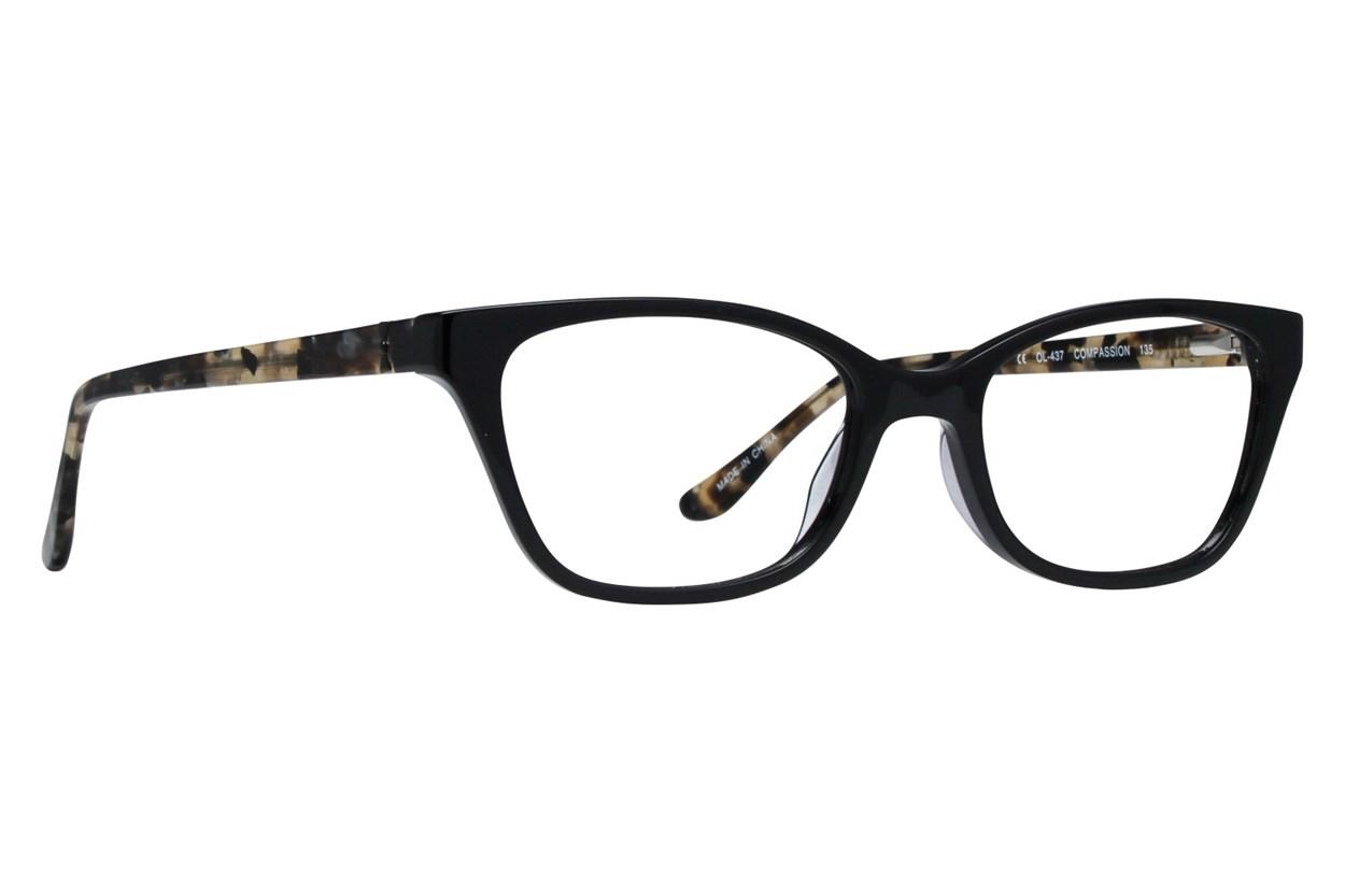 One Love Petite Compassion Black Eyeglasses