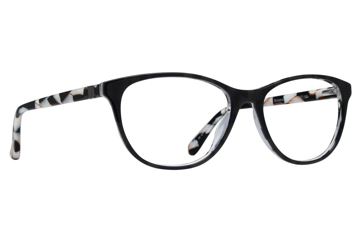 Dea Extended Size Bolzano Black Eyeglasses