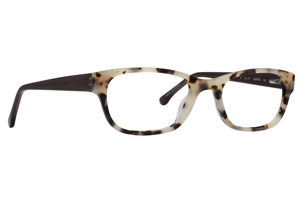 One Love Petite Inspire Brown Eyeglasses