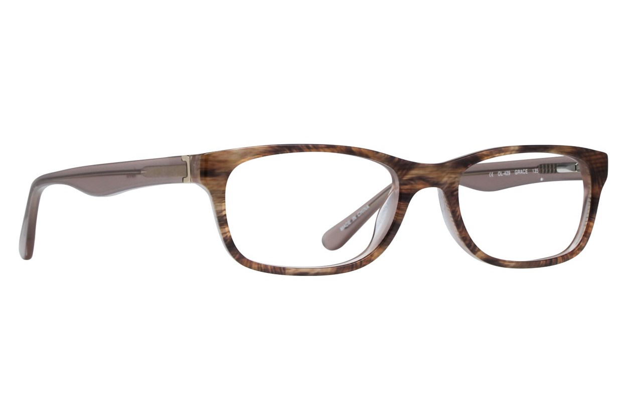 One Love Petite Grace Brown Eyeglasses