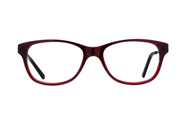 One Love Petite Healing Eyeglasses - Red