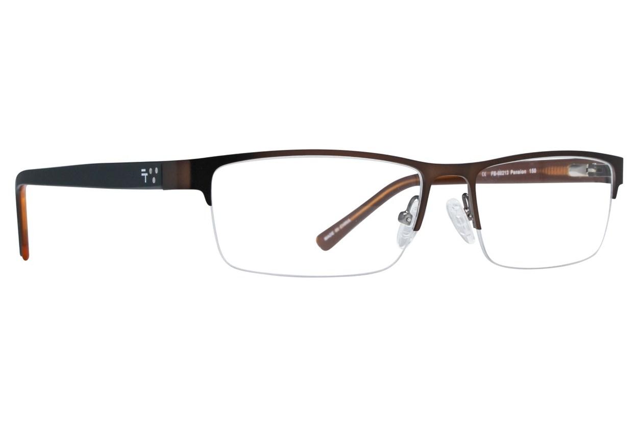 Fatheadz Pension Brown Eyeglasses