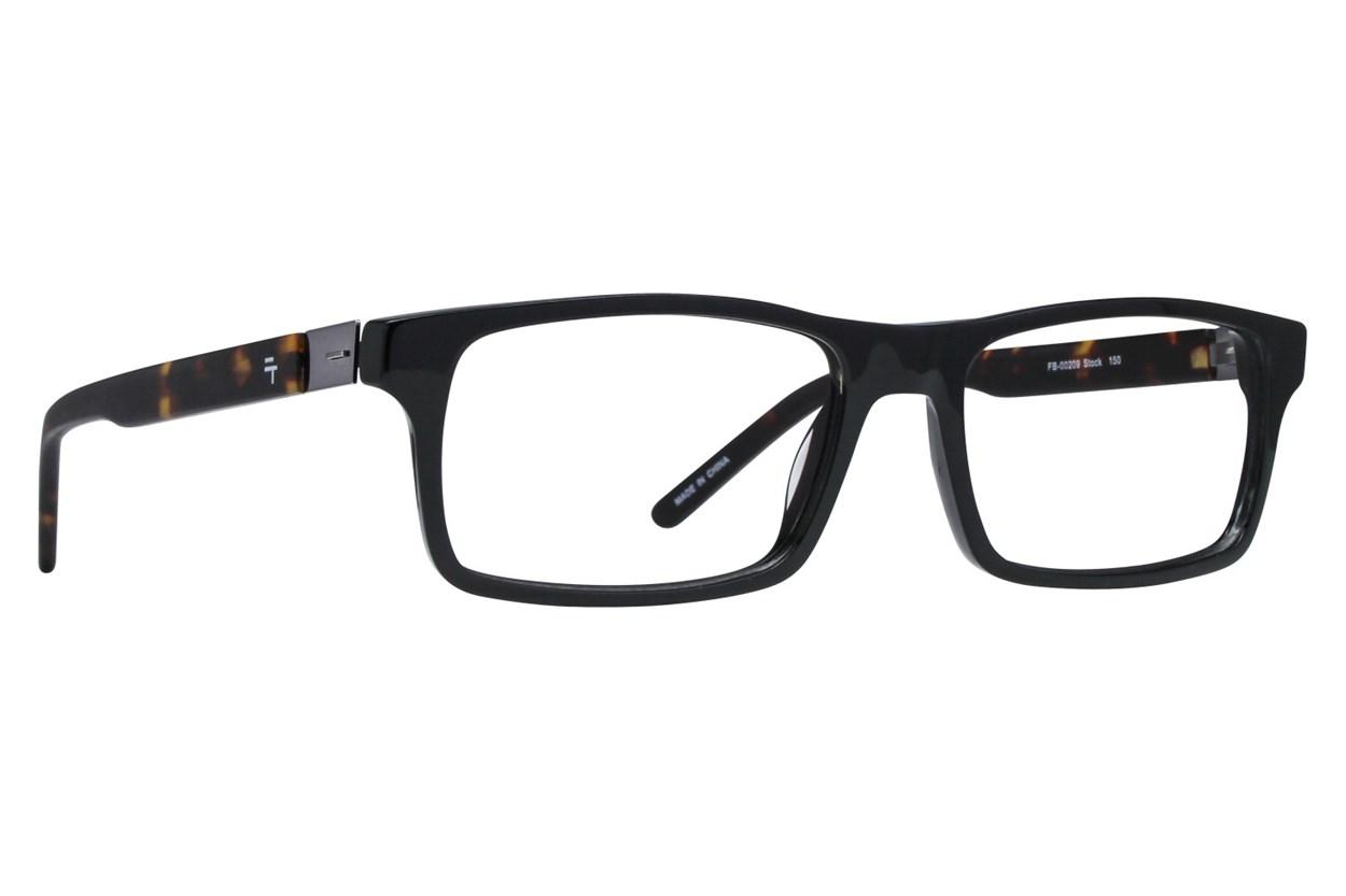 Fatheadz Stock Black Eyeglasses