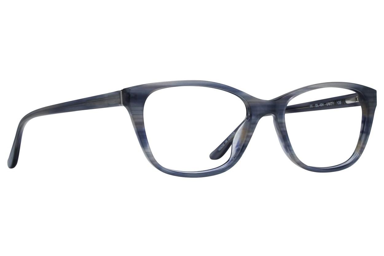 One Love Petite Unity Gray Eyeglasses