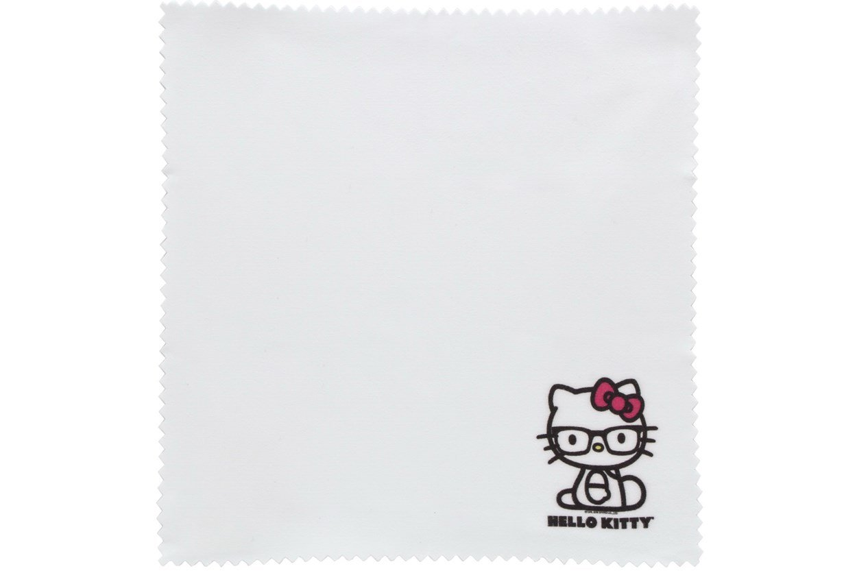 Hello Kitty White Cleaning Cloth  GlassesCleaners