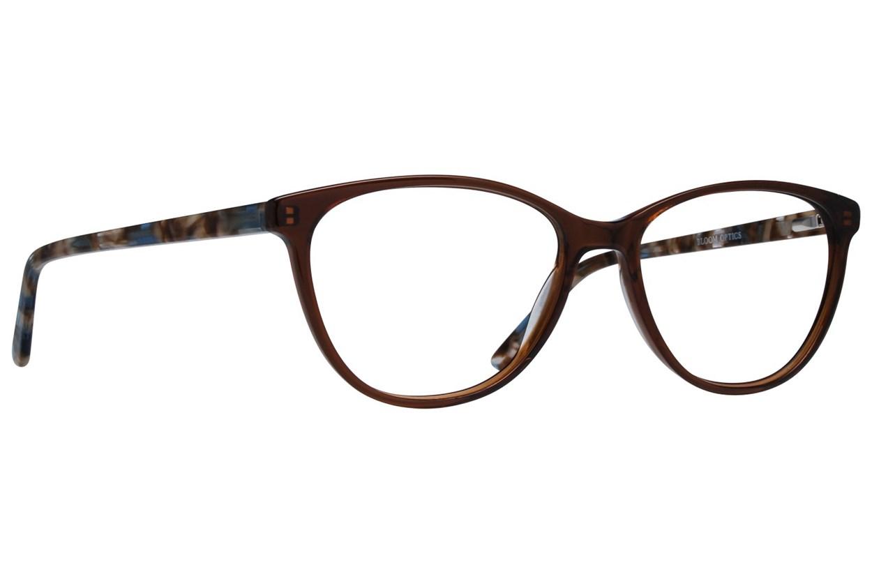 Bloom Optics Boutique Ava Brown Eyeglasses