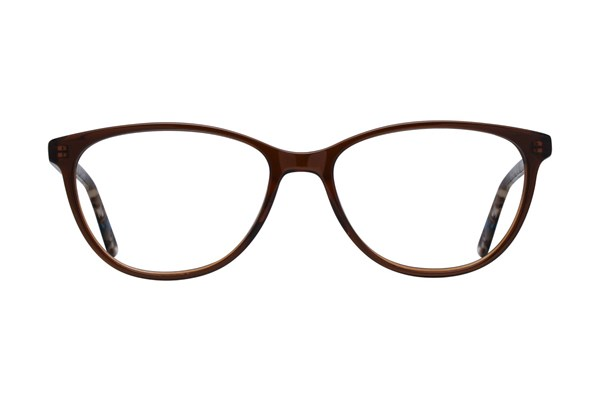 Bloom Optics Boutique Ava Brown Eyeglasses