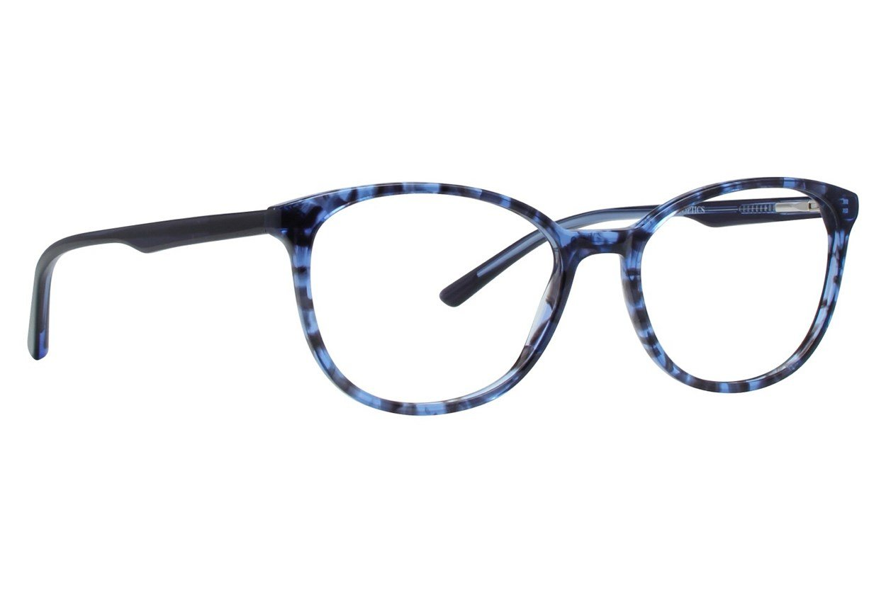 Bloom Optics Petite April Blue Eyeglasses