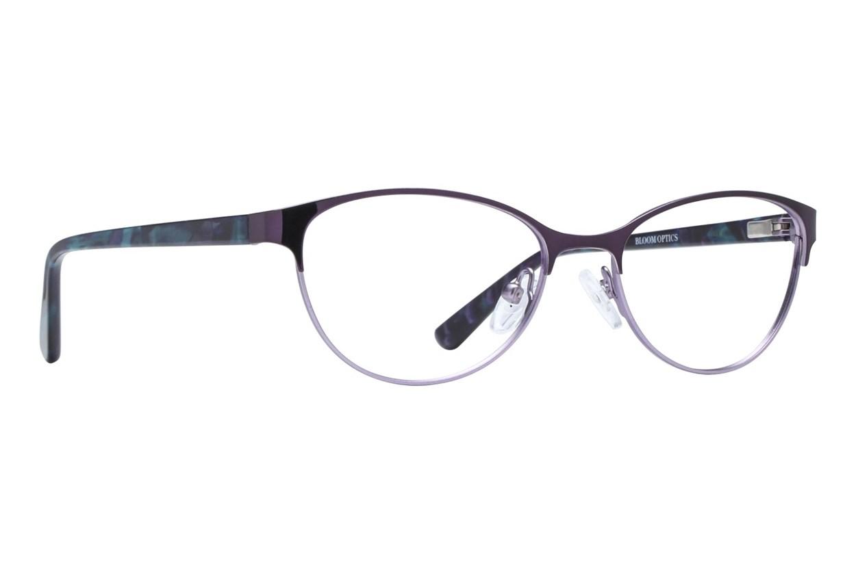 Bloom Optics Petite Daisy Purple Eyeglasses