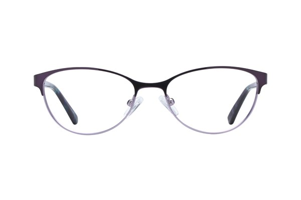 Bloom Optics Petite Daisy Purple Eyeglasses