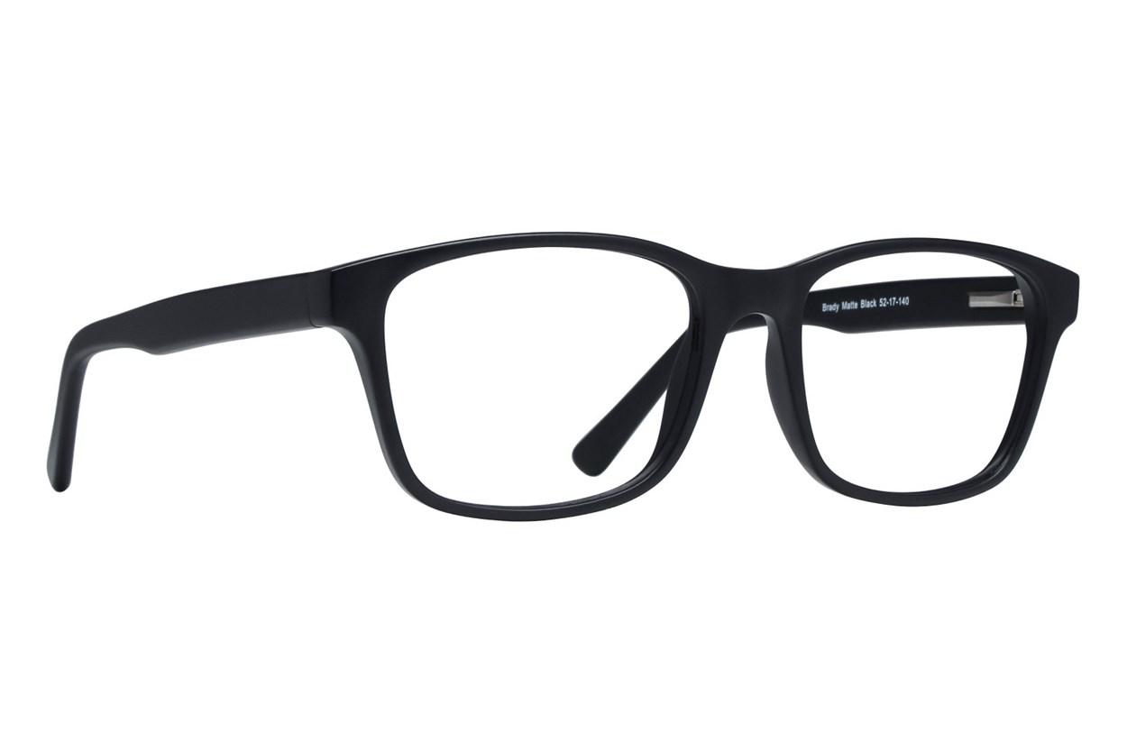 Lunettos Brady Black Eyeglasses