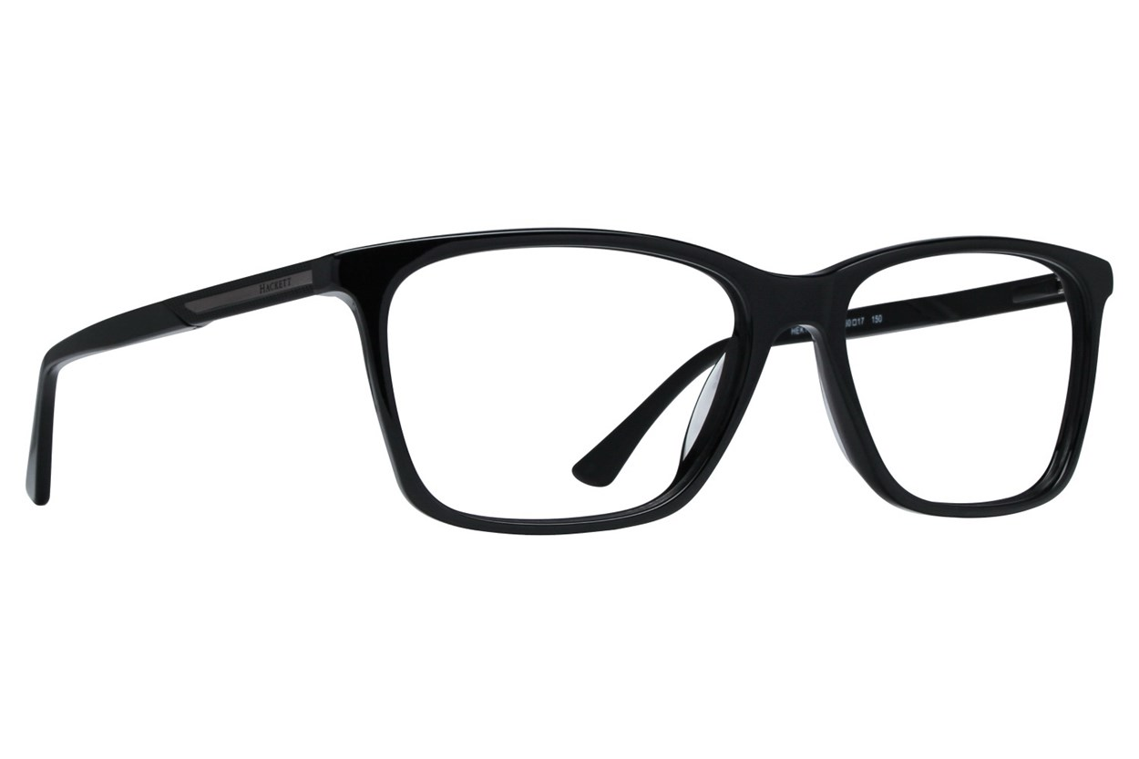 Hackett London Large Fit HEK1185 Eyeglasses - Black