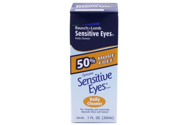 Bausch and Lomb Sensitive Eyes Daily Contact Lenses Cleaner (1 fl. oz. 30 ml) SolutionsCleaners