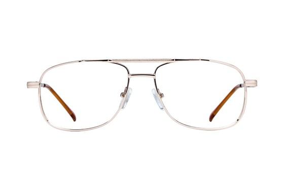 Lunettos Hugh Gold Eyeglasses