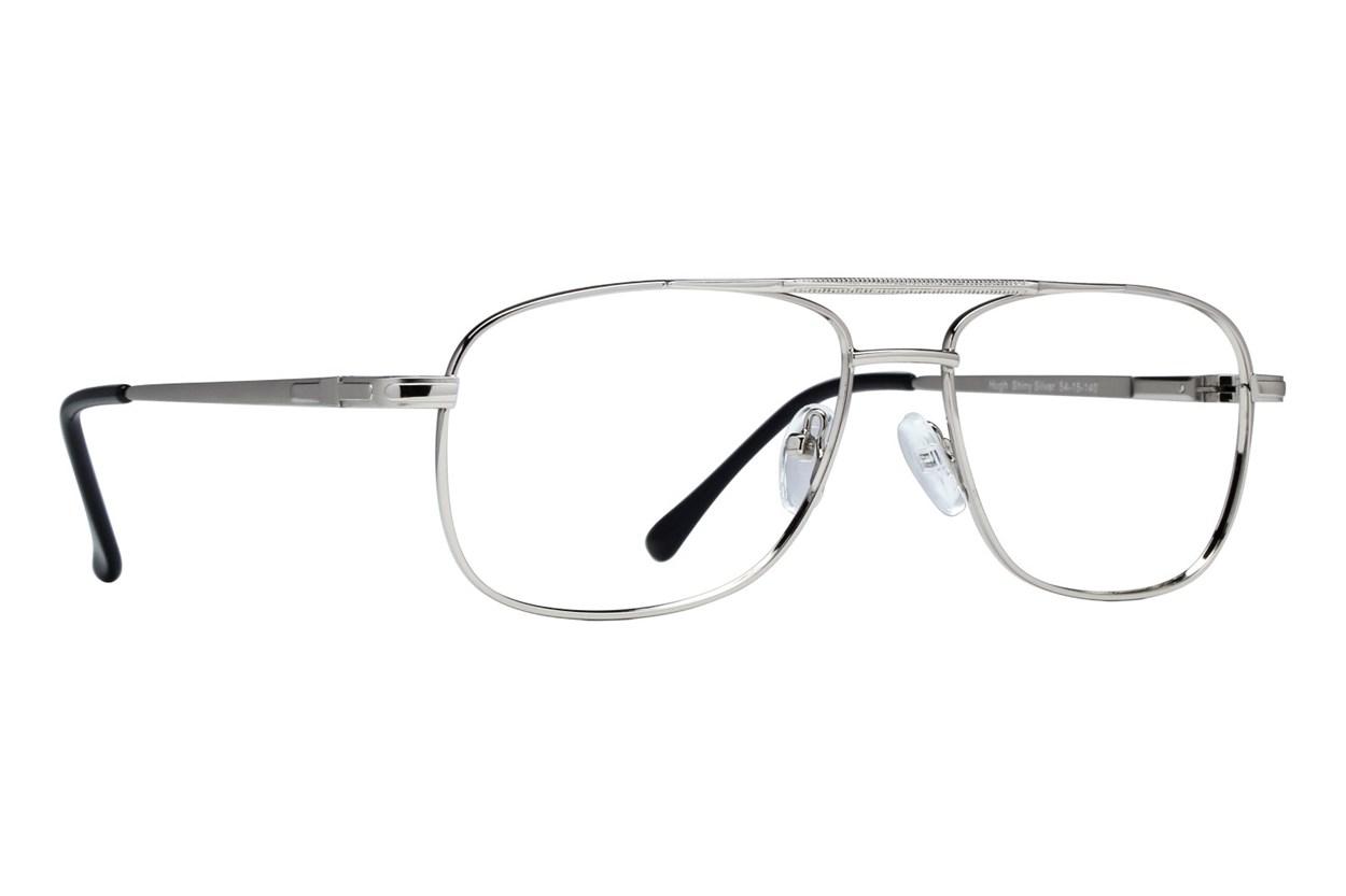 Lunettos Hugh Silver Eyeglasses