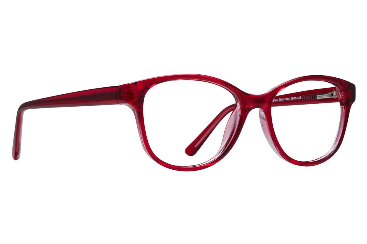 Lunettos Karlee Red Eyeglasses