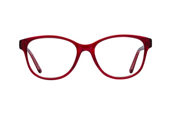 Lunettos Karlee Eyeglasses - Red