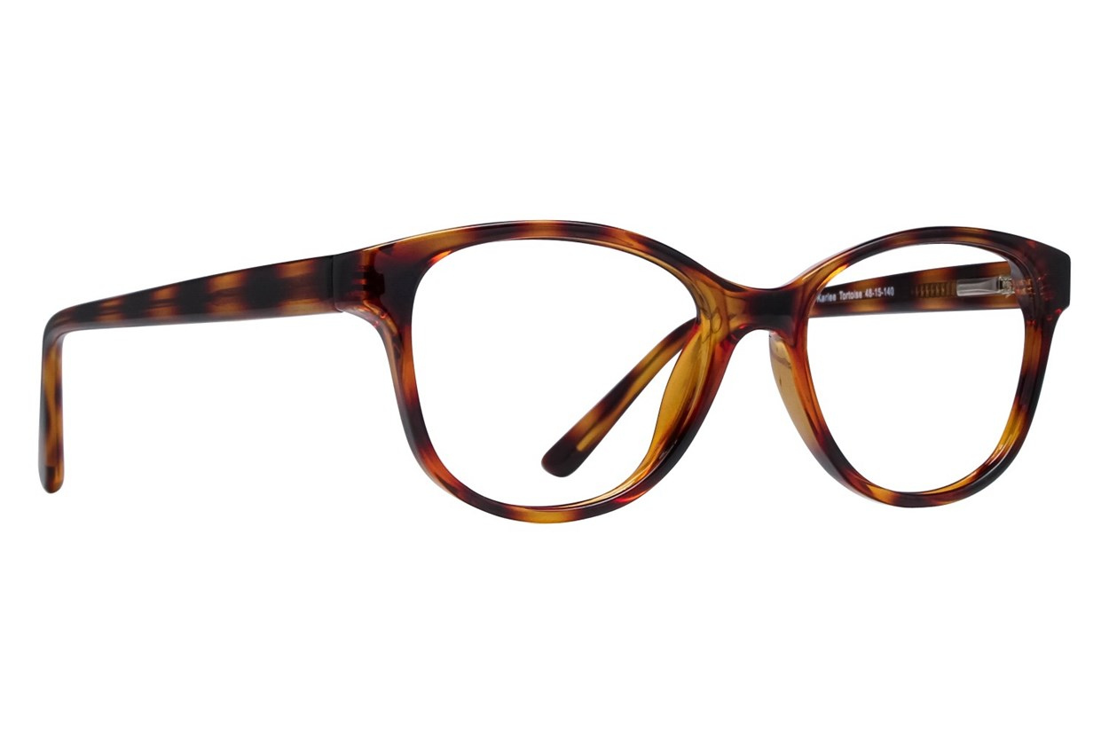 Lunettos Karlee Tortoise Eyeglasses