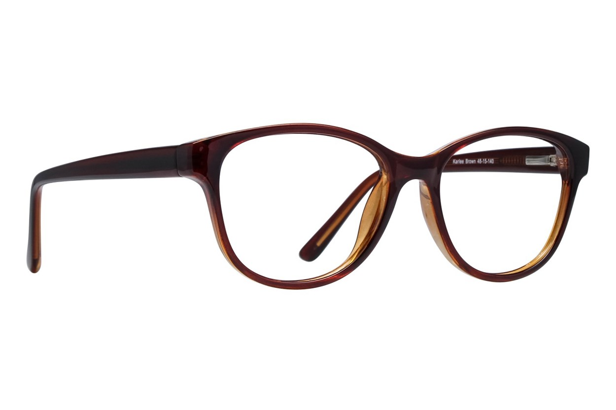 Lunettos Karlee Eyeglasses - Brown