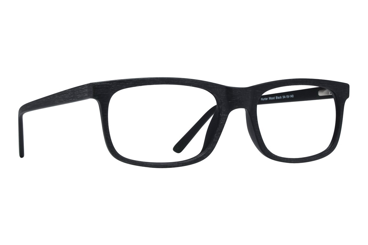 Lunettos Hunter Black Eyeglasses