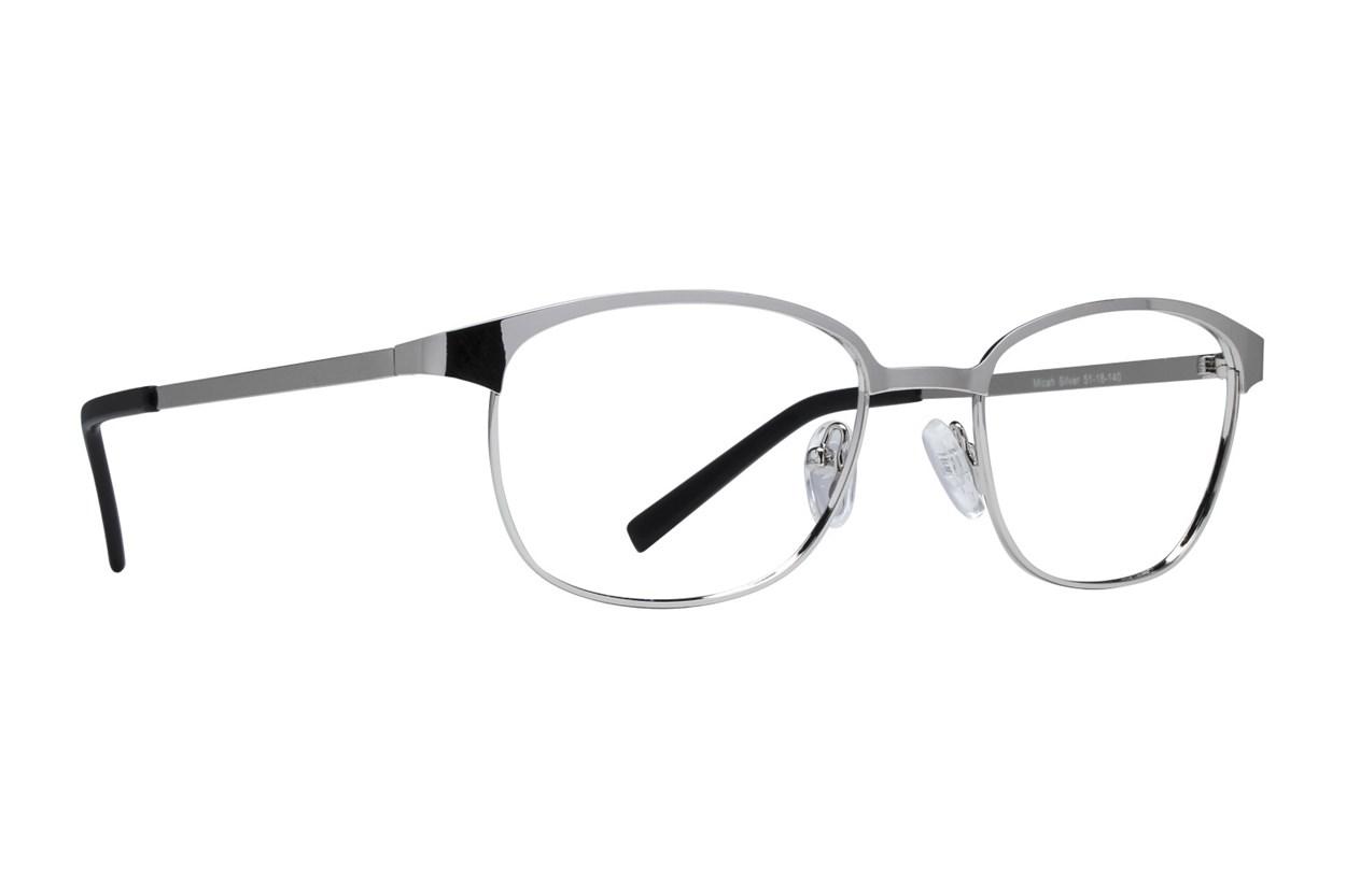 Lunettos Micah Silver Eyeglasses