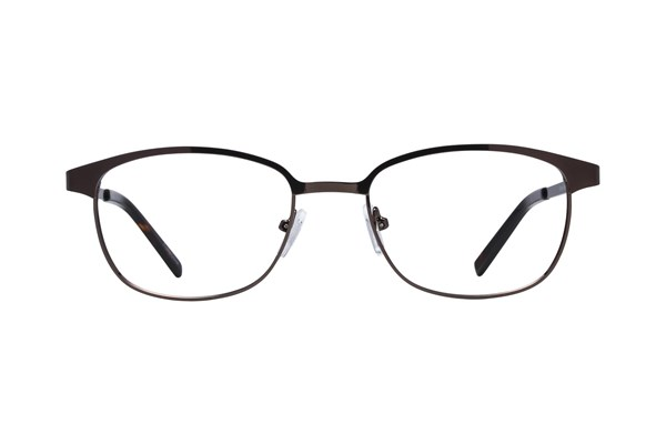 Lunettos Micah Brown Eyeglasses