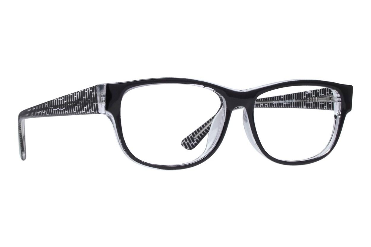 Lunettos Quinn Black Eyeglasses