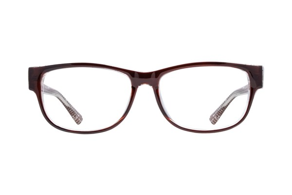 Lunettos Quinn Brown Eyeglasses