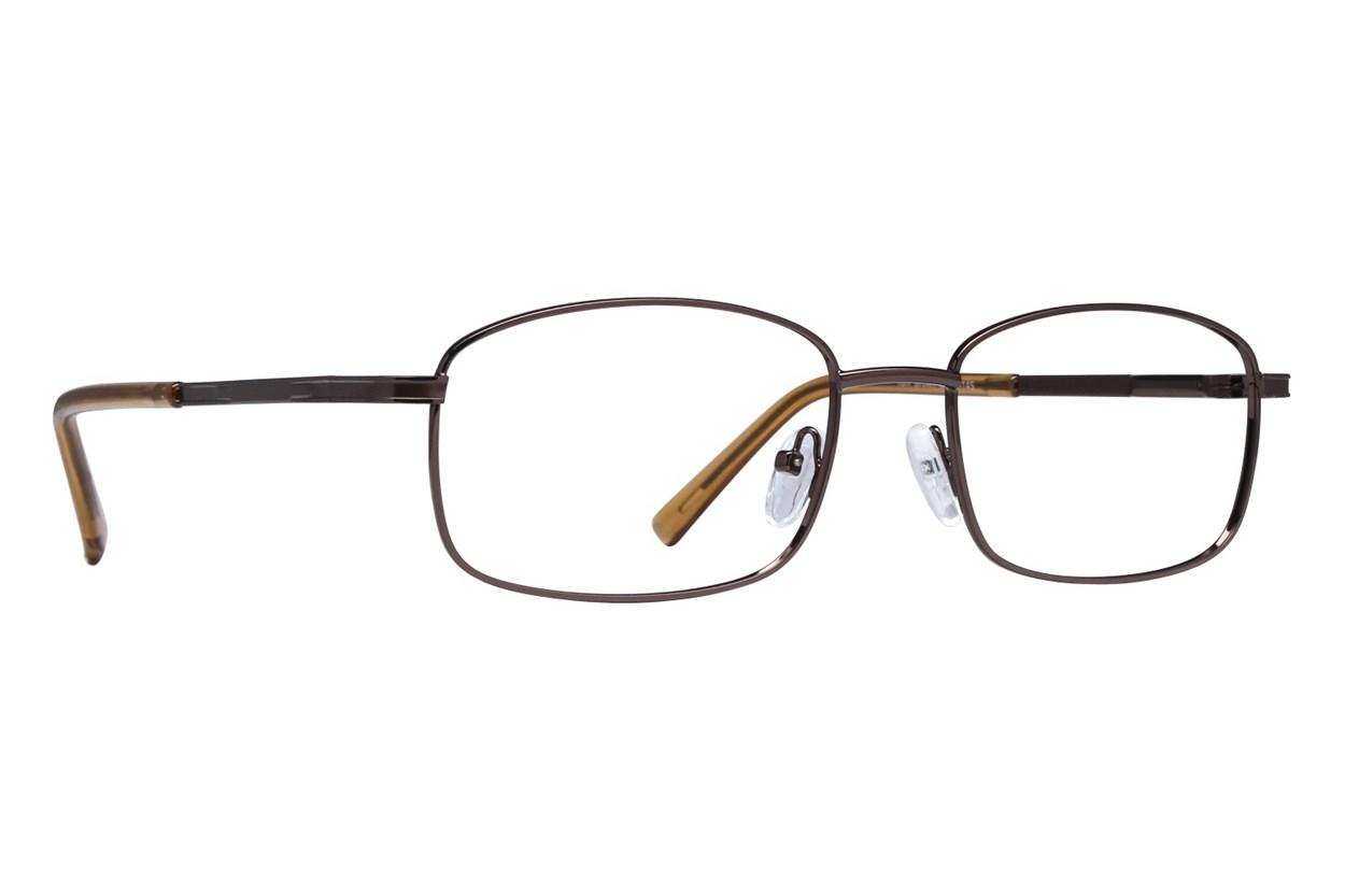 Lunettos Tom Brown Eyeglasses