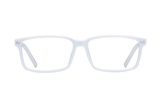 Lunettos Lane White Eyeglasses