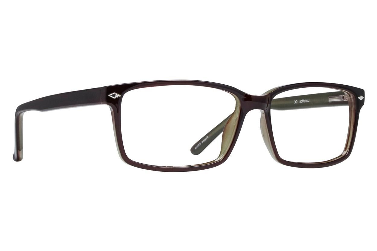 Lunettos Lane Brown Eyeglasses