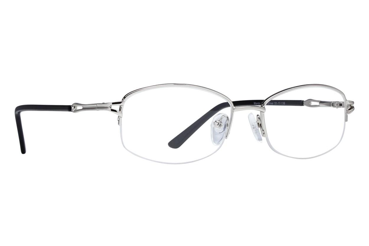 Lunettos Mandy Silver Eyeglasses