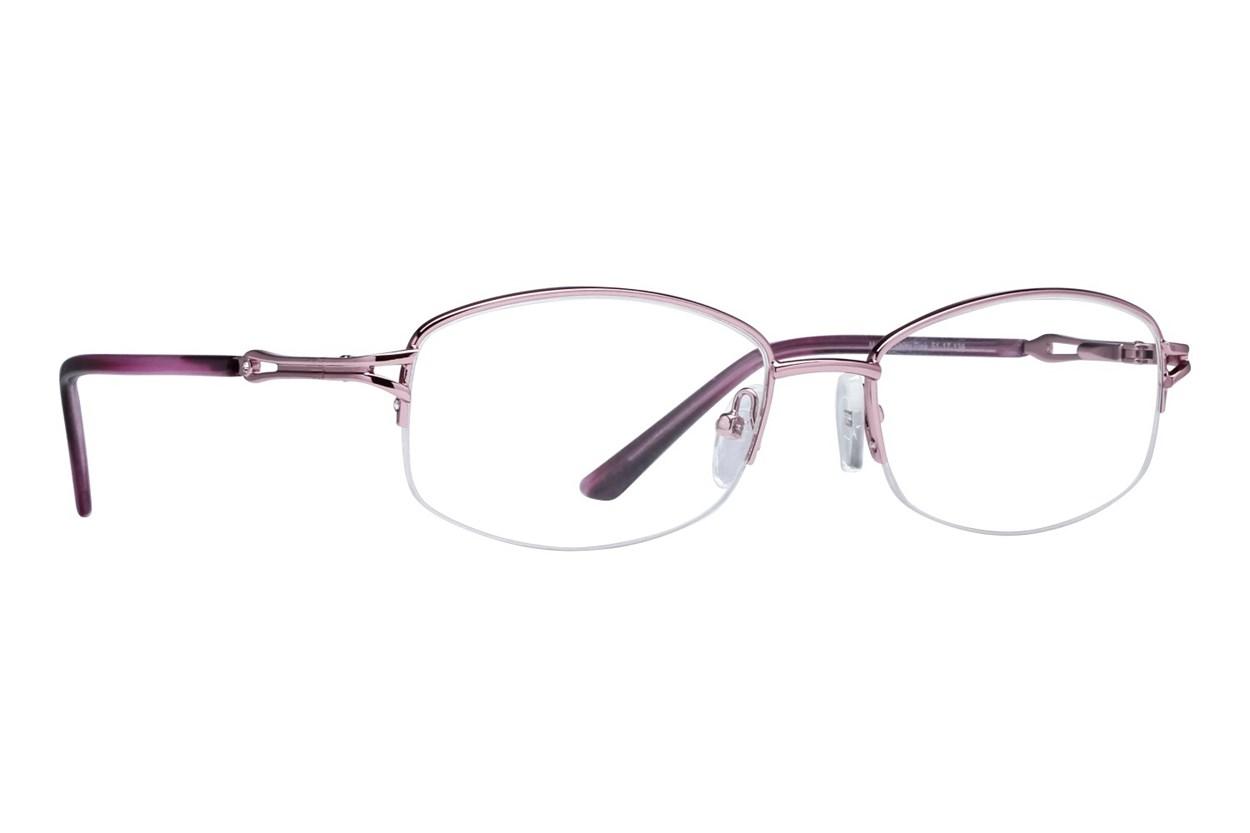 Lunettos Mandy Pink Eyeglasses