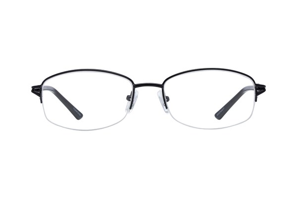 Lunettos Mandy Black Eyeglasses