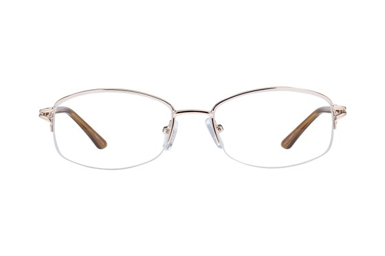 Lunettos Mandy Gold Eyeglasses