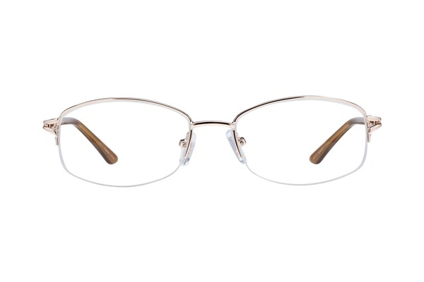 Lunettos Mandy Eyeglasses - Gold