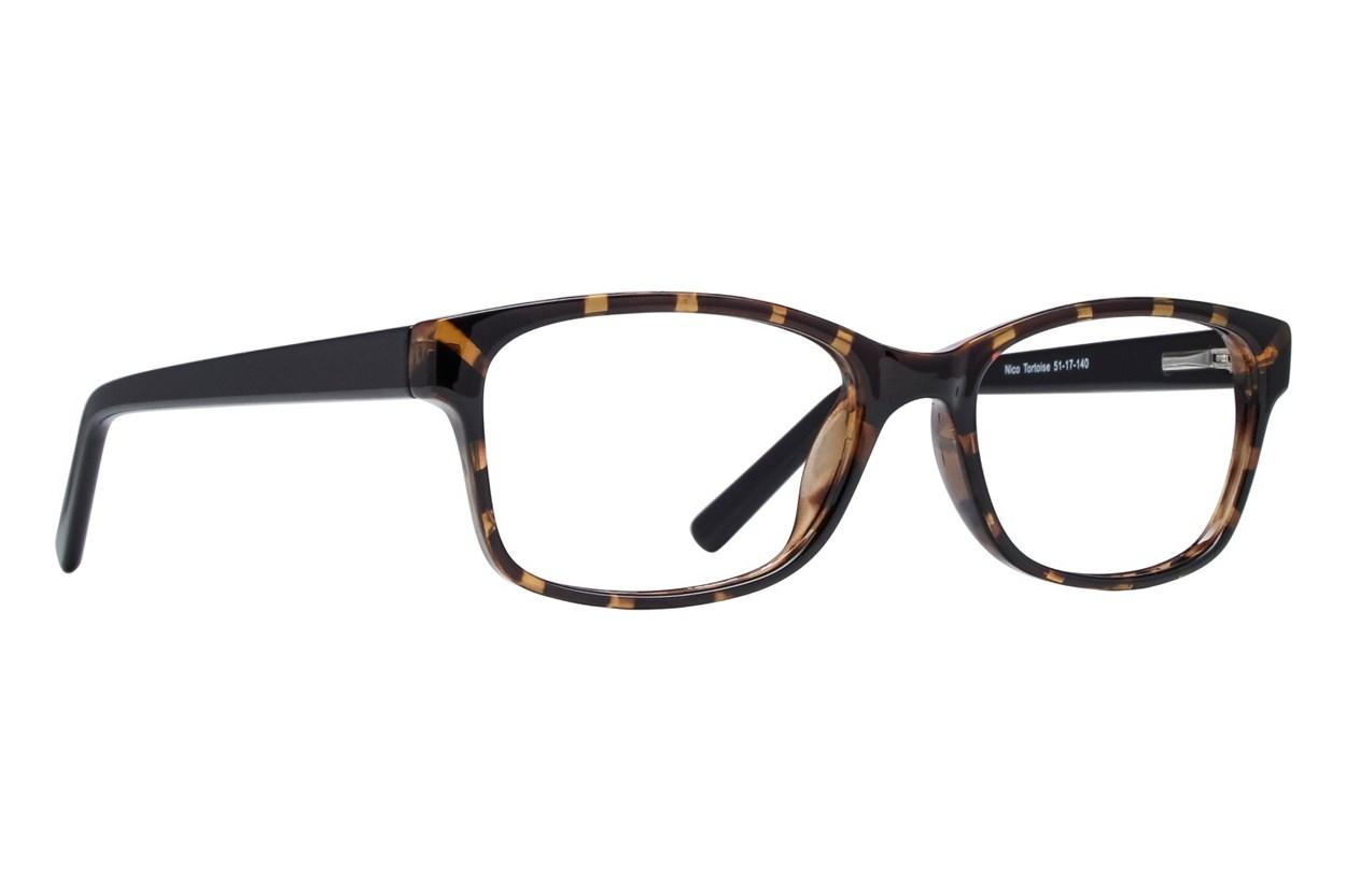 Lunettos Nico Tortoise Eyeglasses