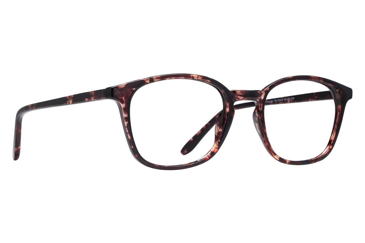 Lunettos Reagan Tan Eyeglasses