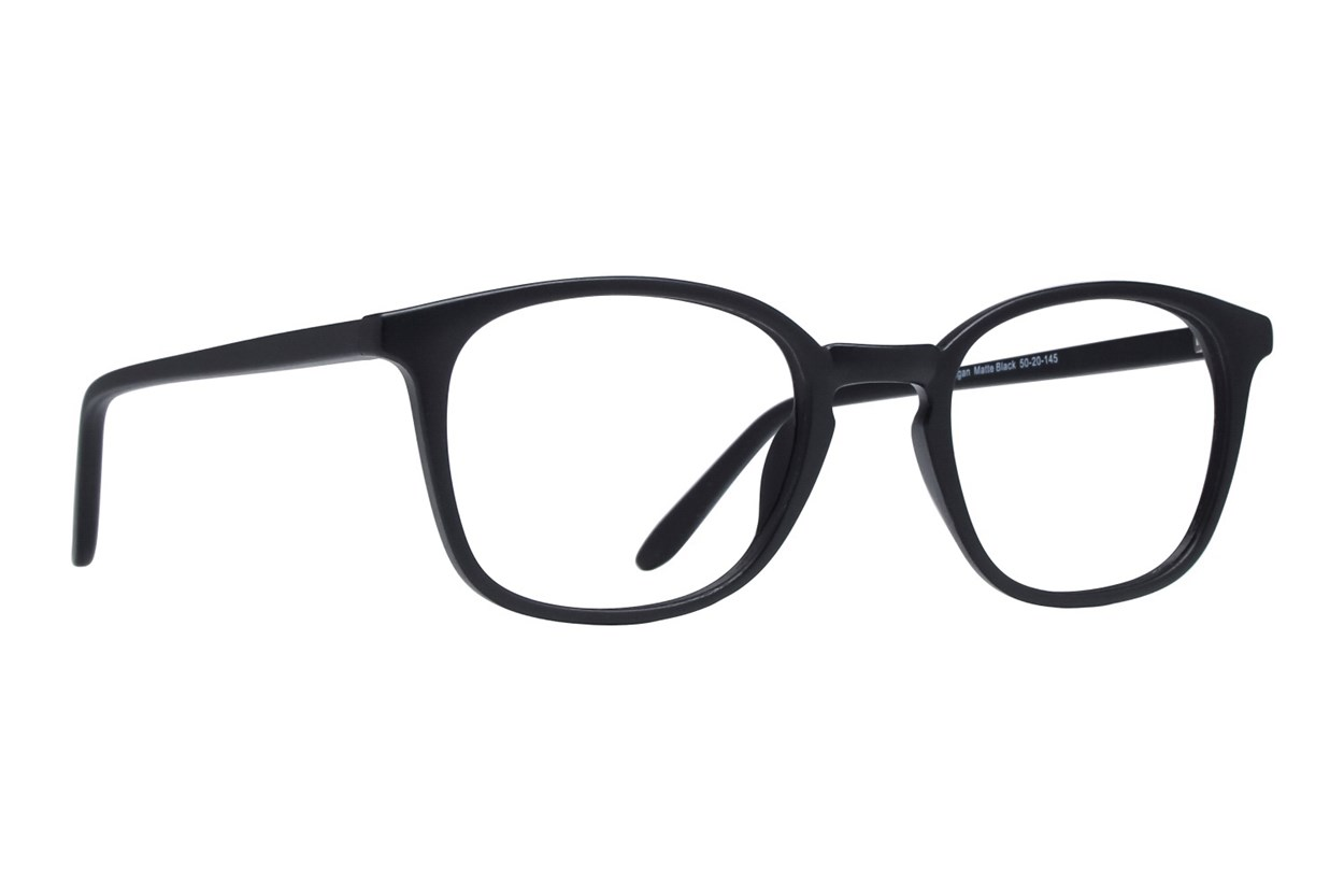Lunettos Reagan Black Eyeglasses