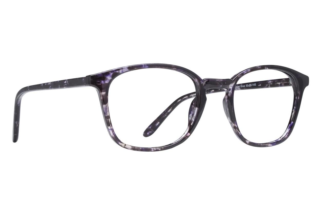 Lunettos Reagan Blue Eyeglasses