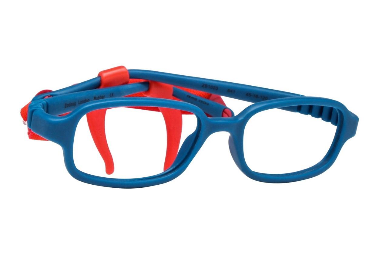 Zoobug ZB1020 Blue Eyeglasses