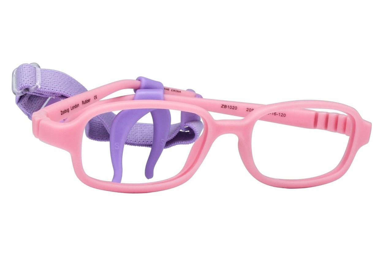 Zoobug ZB1020 Pink Eyeglasses