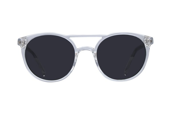 Lunettos Ashton Clear Sunglasses