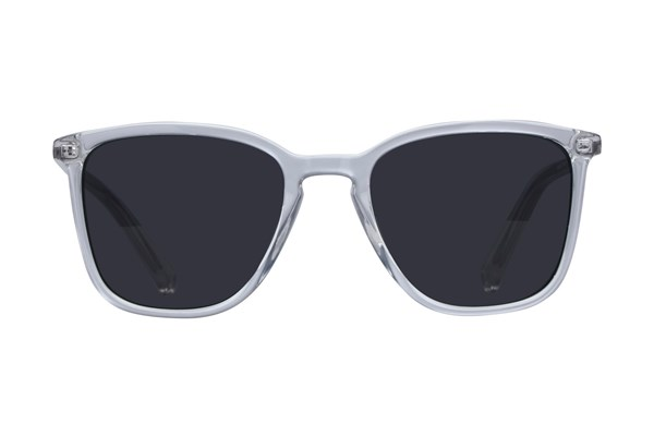 Lunettos Becket Clear Sunglasses